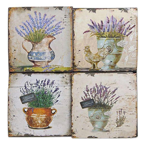 Wandbild Dekobild Lavendel