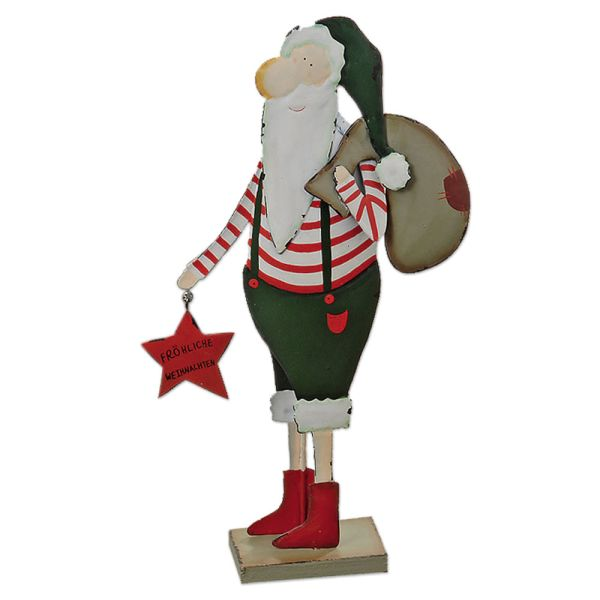 Dünner Weihnachtsmann - rot-grün