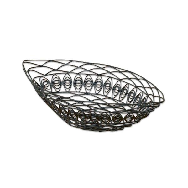 Metallkorb oval klein