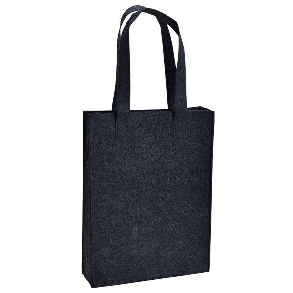 Filz-Tasche mit Henkel schwarz