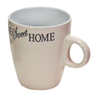 Porzellanbecher Senseo Home Sweet Home beige