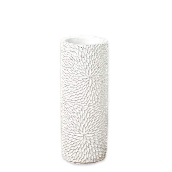 Vase Beton weiss - klein