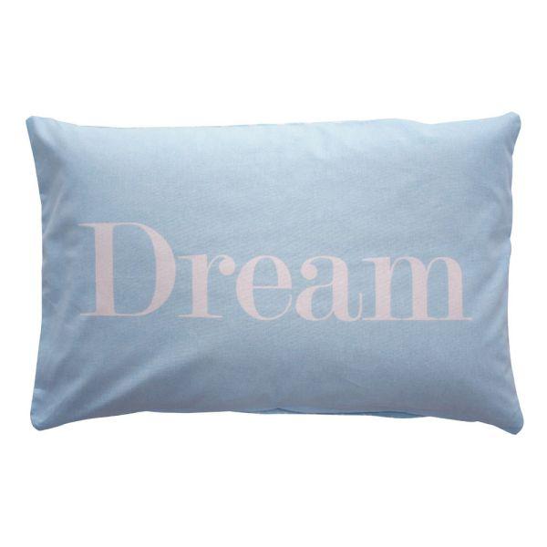 Kissenüberzug Dream hellblau