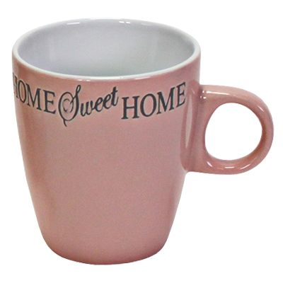Porzellanbecher Senseo Home Sweet Home rosa