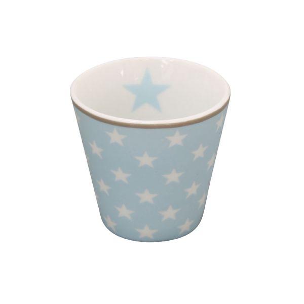 Espressotasse Star hellblau