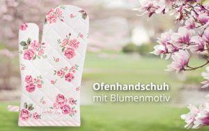Ofenhandschuh Erdbeeren