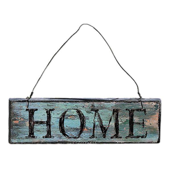 Holzschild Dekoschild Home