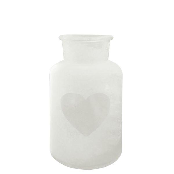 Vase Passion Glas Herzausschnitt klein