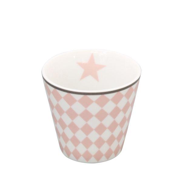 Espressotasse Harlekin rosa