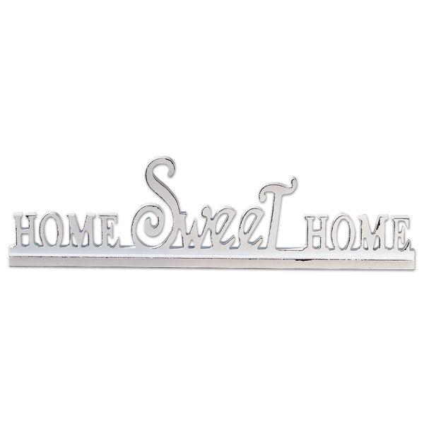 deko schriftzug gross weisses holz home sweet home. Black Bedroom Furniture Sets. Home Design Ideas