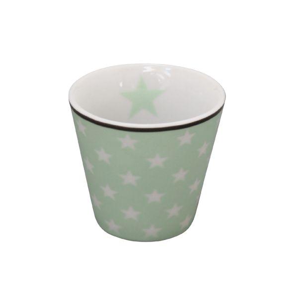 Espressotasse Star hellgrün