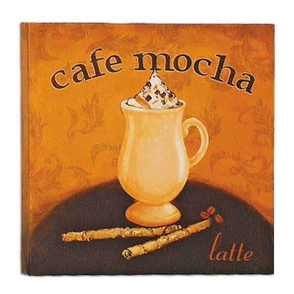 Dekobild cafe mocha