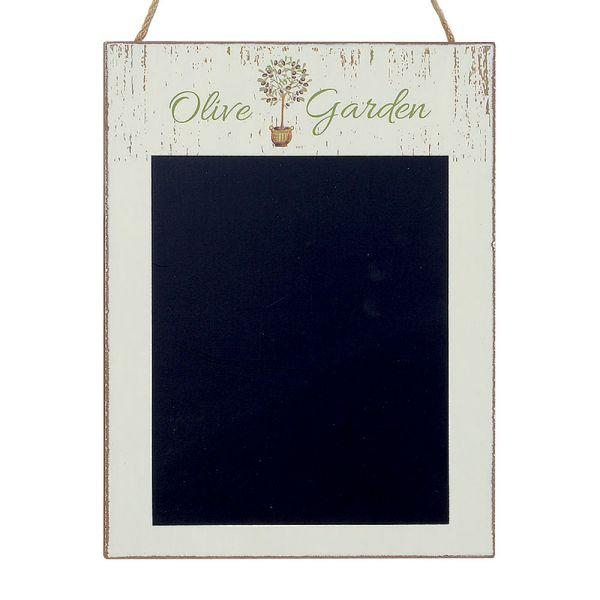 Memotafel Olive Garden hellgruen