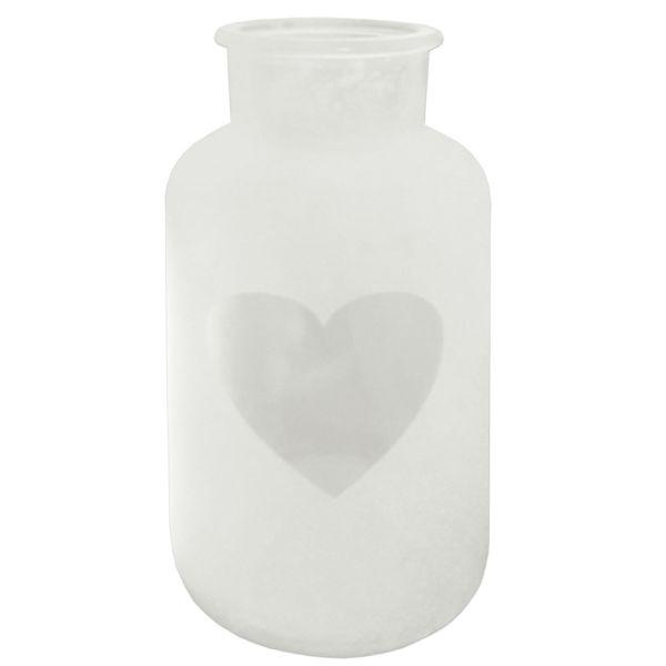 Vase Passion Glas Herzausschnitt gross