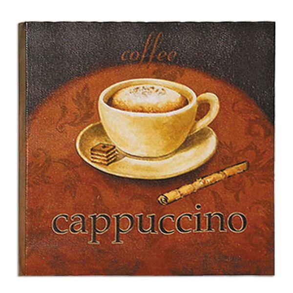 Dekobild cappuccino
