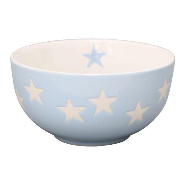 Schale Star hellblau