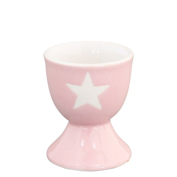Eierbecher Star rosa