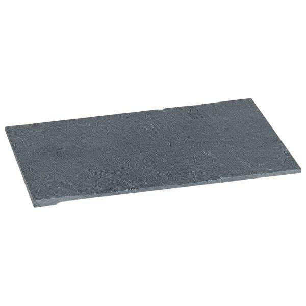 Serviertablett Schiefer schwarz 22 cm